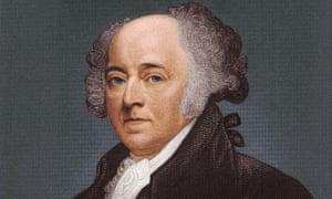 John Adams, circa 1790.