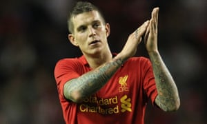 Daniel Agger played 232 games for Liverpool between 2006 and 2014.
