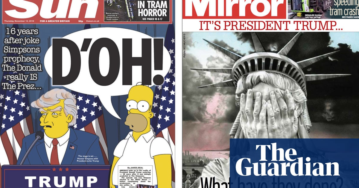 The World's Newspapers React To Trump's Election Victory