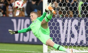 Jordan Pickford believes his primary job is stopping shots and says 'you don't want to get too comfortable and start trying to be a No 10'.