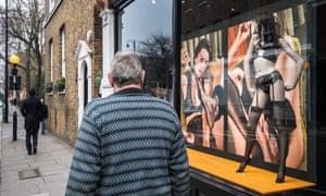 High-street erotica … an AP store in London.