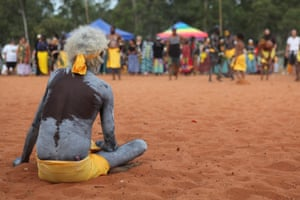 The Garma festival, held in north-east Arnhem Land, Northern Territory, is the largest Indigenous gathering in Australia.