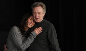 Smiling duo: Catherine Keener and Christopher Walken in A Late Quartet.