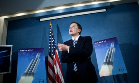 Elon Musk, founder of Tesla and SpaceX: 'His passion is settling Mars.'