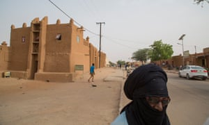 The ancient desert city of Agadez in central Niger