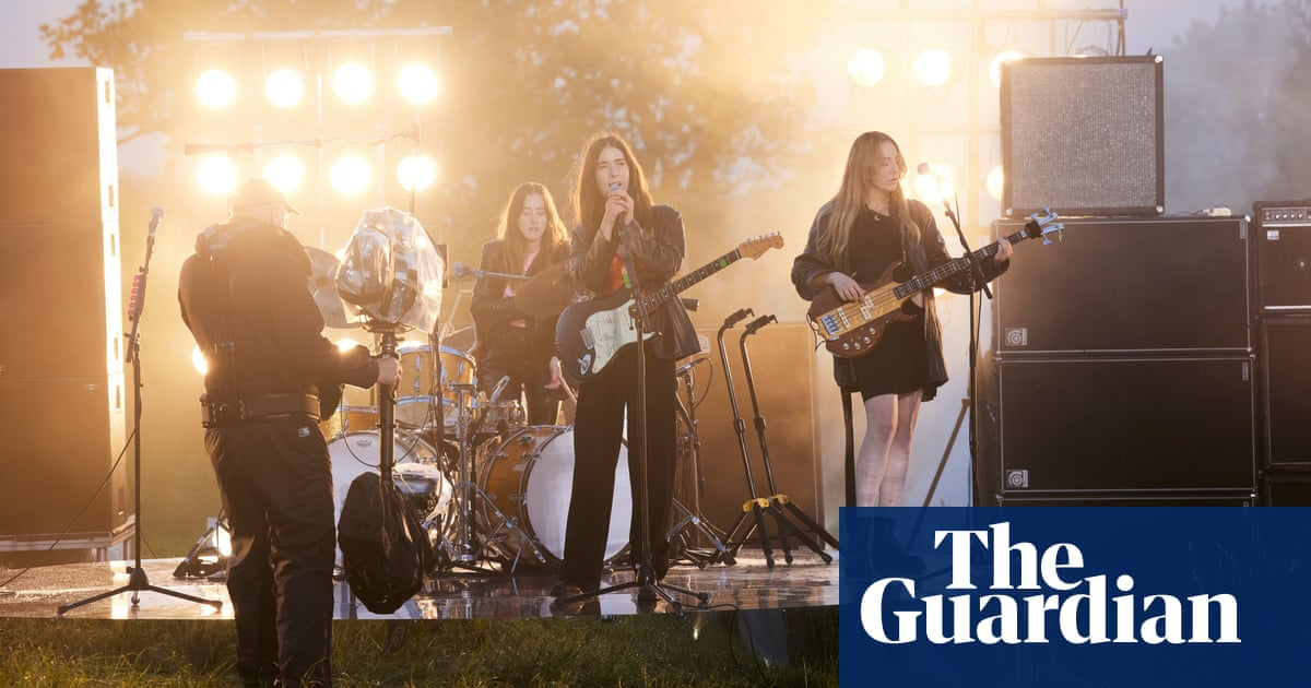 Live at Worthy Farm: joy as Glastonbury takes muddy first steps back to normality