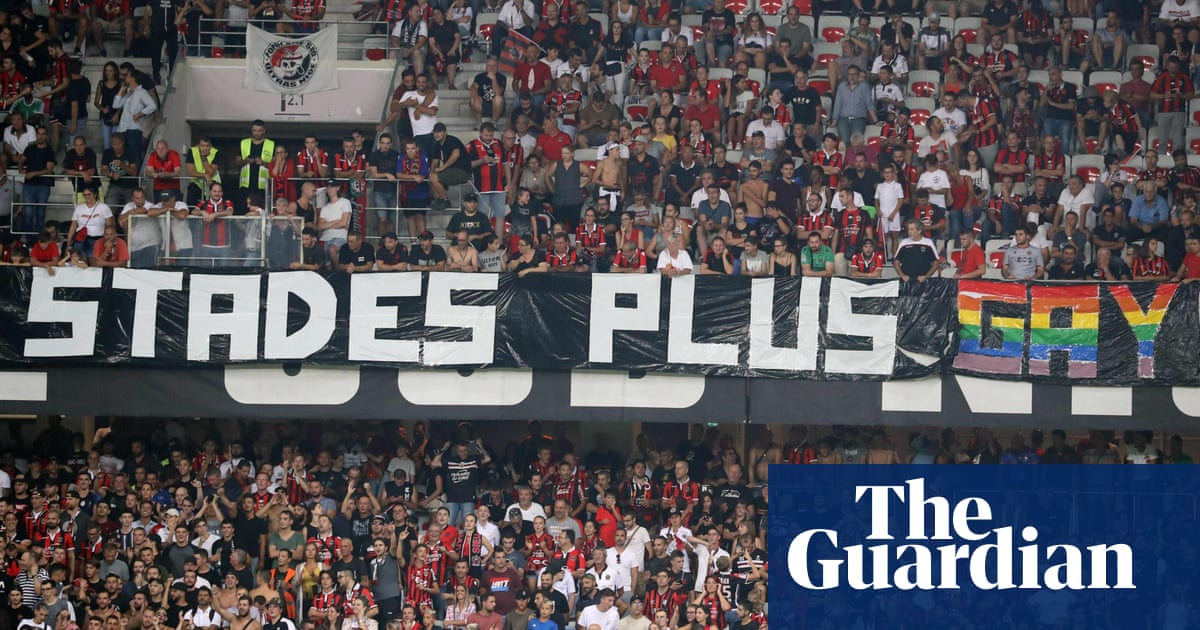 Nice's match with Marseille suspended after fans display homophobic banners