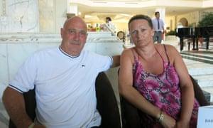 Glenn and Anita Whitehead from Swanley, Kent.