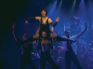 All that jazz … Catherine Zeta-Jones in Chicago
