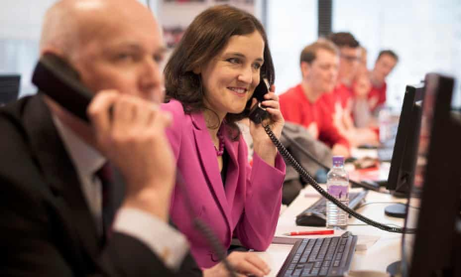 Leading Brexiteers Iain Duncan Smith and Theresa Villiers.