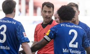 """Weston McKennie wears an armband reading """"Justice for George""""."""