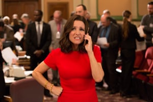 Selina Meyer: a fountain of vanity behind the facade.