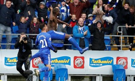 Sol Bamba's last-minute winner bags Cardiff victory against 10-man Brighton