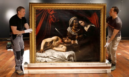 """An art expert is adamant that Italian master Caravaggio painted """"Judith Beheading Holofernes"""" which was found in an attic in France."""