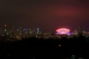 Sydney's fireworks