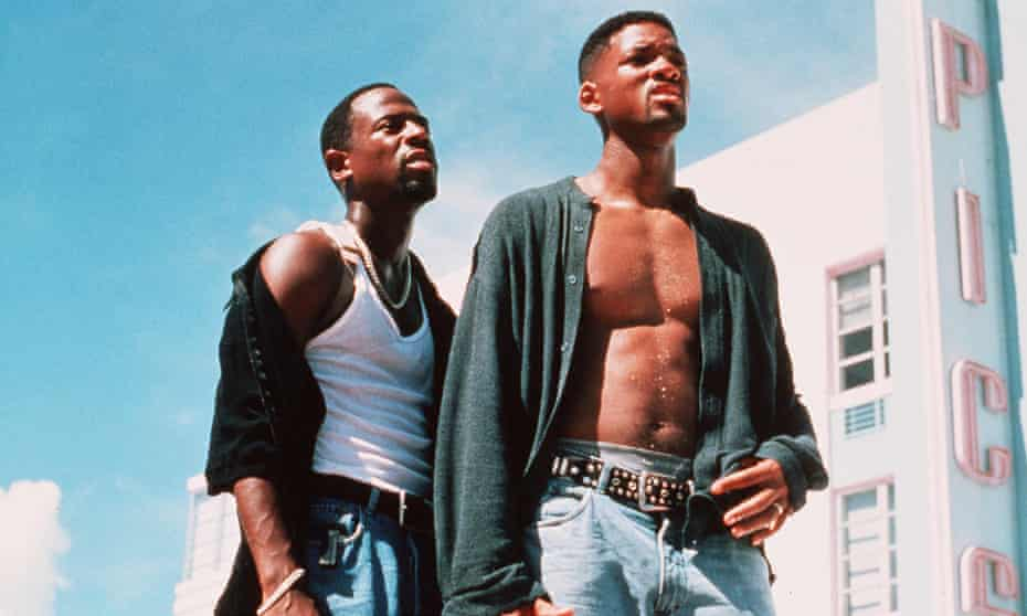 Martin Lawrence and Will Smith in Bad Boys.