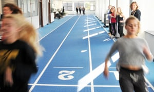 The human performance lab, which students assess the function and performance of a wide range of human physiological, biomechanical and psychological parameters.