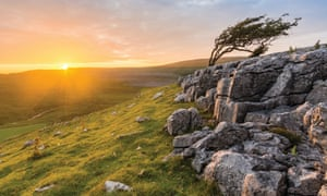 Sunset in the Yorkshire Dales