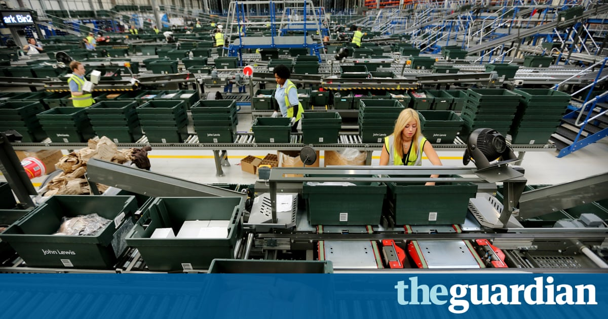Poor productivity outside south-east England hurting UK economy