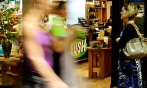 A Lush store in Sydney
