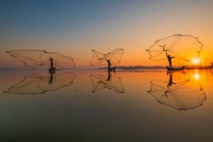 Bring Home the Harvest    The Morning Catch by Zay Yar Lin
