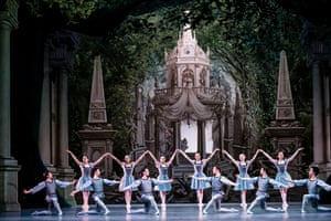 The Paris Opera Ballet corps in A Midsummer Night's Dream.