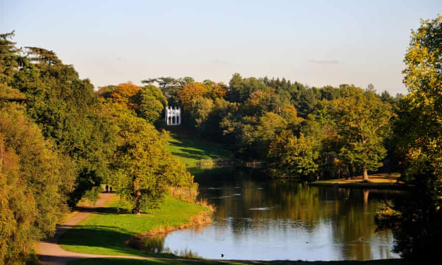 A view of Painshill Park, from the Turkish tent