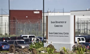 The Idaho correctional center, operated by CoreCivic. A CoreCivic spokesperson told the Guardian 'there are far more pressing matters for Congress to pursue' than the reit tax classifications.