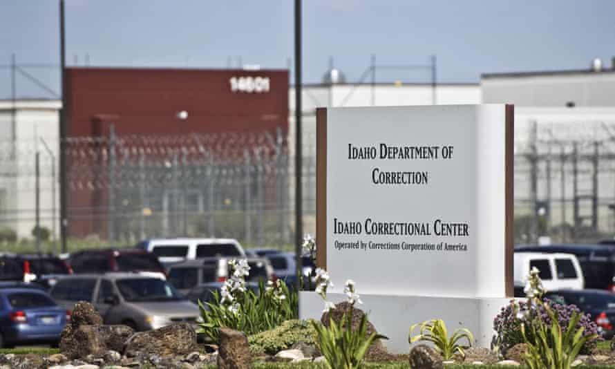 The Idaho correctional center, south of Boise