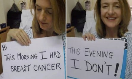 Victoria Derbyshire's first video diary after her mastectomy.