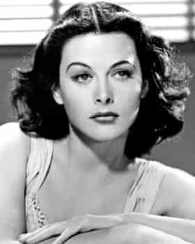 A 1940s shot of Hedy Lamarr