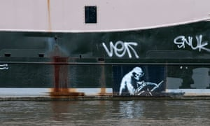 the Grim Reaper paddles past the Thekla