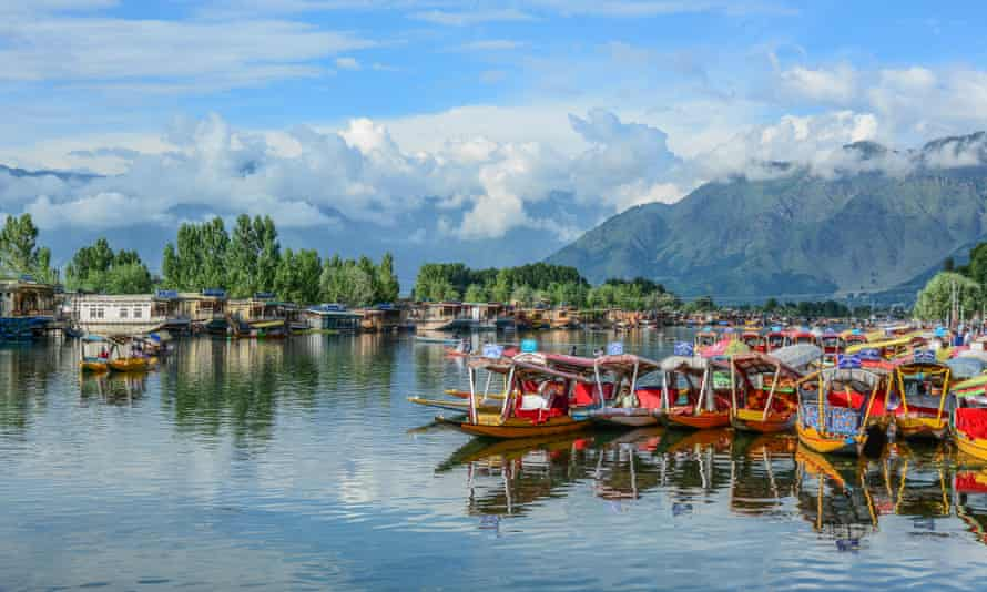 Dal Lake in Srinagar, India