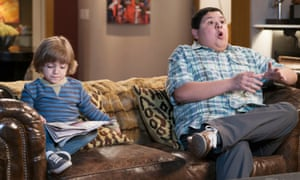 Pierce Wallace and Rico Rodriguez in a scene from season seven.