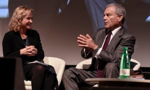 A lively encounter between Jane Martinson and Sir Martin Sorrell