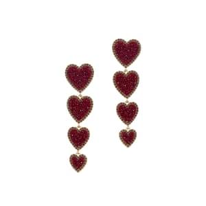 Earrings, £65, Bauble Bar (harveynichols.com)