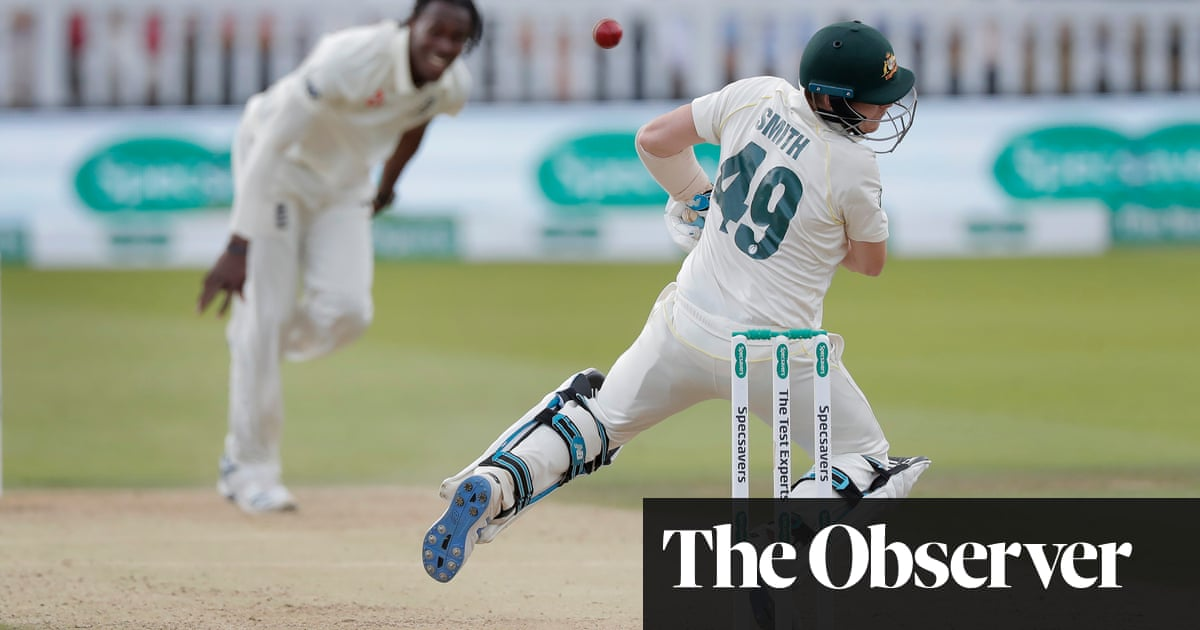Jofra Archer's fire could be key to breaking Steve Smith's dominance | Andy Bull
