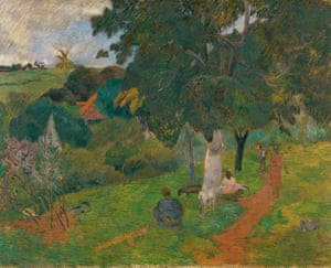 Paul Gauguin's Coming and Going, Martinique, 1887.