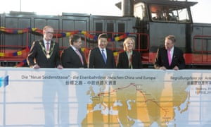 Chinese President Xi Jinping Visits Duisburg