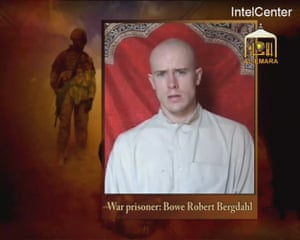 A Taliban propaganda video released on Christmas day 2009 showing a captured Bowe Bergdahl.