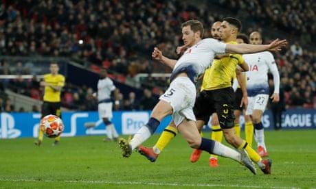 Pochettino praises Tottenham 'heroes' after 3-0 victory over Dortmund – video