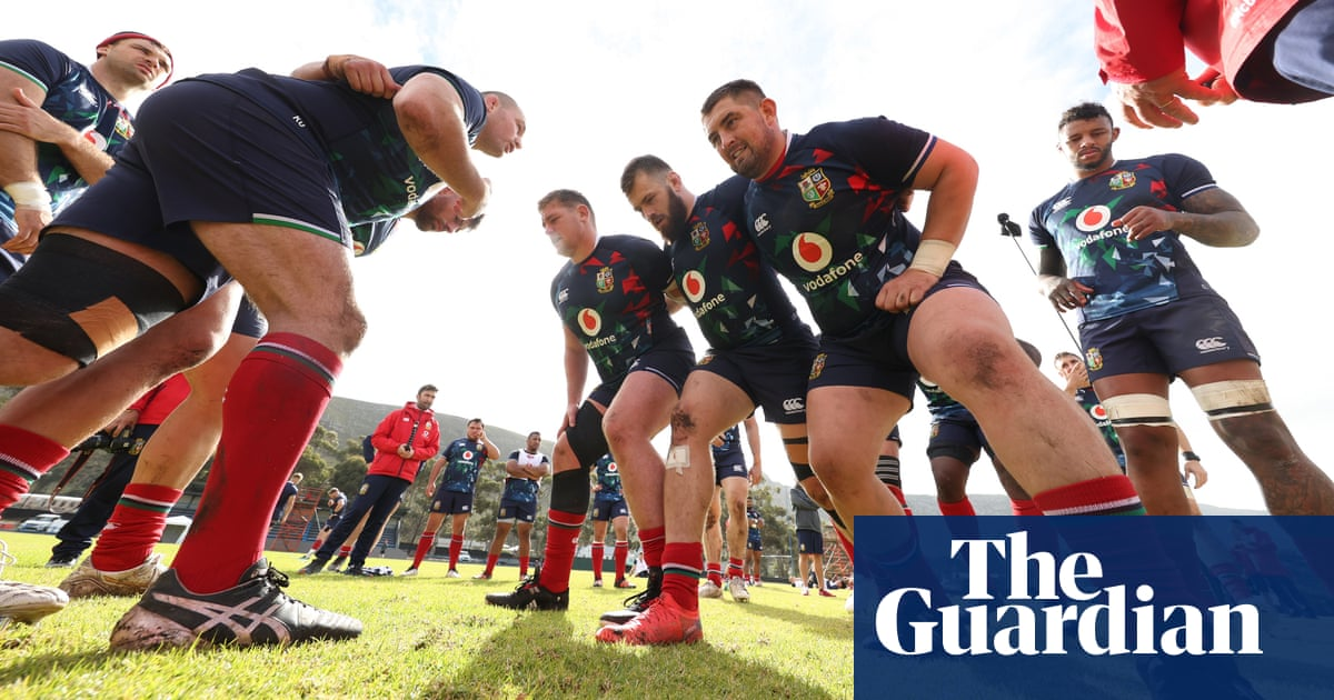 Bullish Lions plan to force Springboks on to back foot in opening showdown