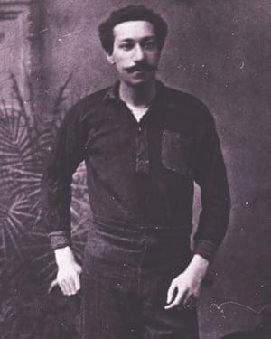 Arthur Wharton of Rotherham Town FC, 1894.
