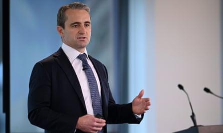 Commonwealth Bank of Australia CEO Matt Comyn