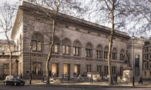 Architect's plans for the National Portrait Gallery's new entrance and forecourt