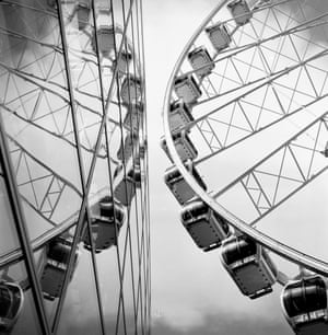 Wheel close to the Selfridges store in Manchester.