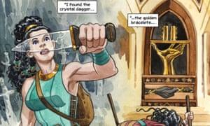 Wonder Woman: The True Amazon by Jill Thompson.
