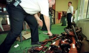 Australians surrendered more than half a million guns