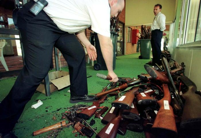 It took one massacre: how Australia embraced gun control