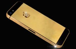 A£10m diamond-encrusted iPhone.
